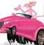 粉色小汽车拼图