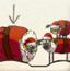 三只小羊回家圣诞版