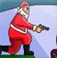 圣诞老人射杀僵尸