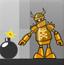 炸毁机器人